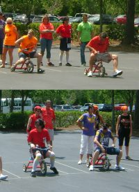 Tricycle Relay Race Event