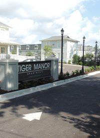 Tiger Manor - New Entrance
