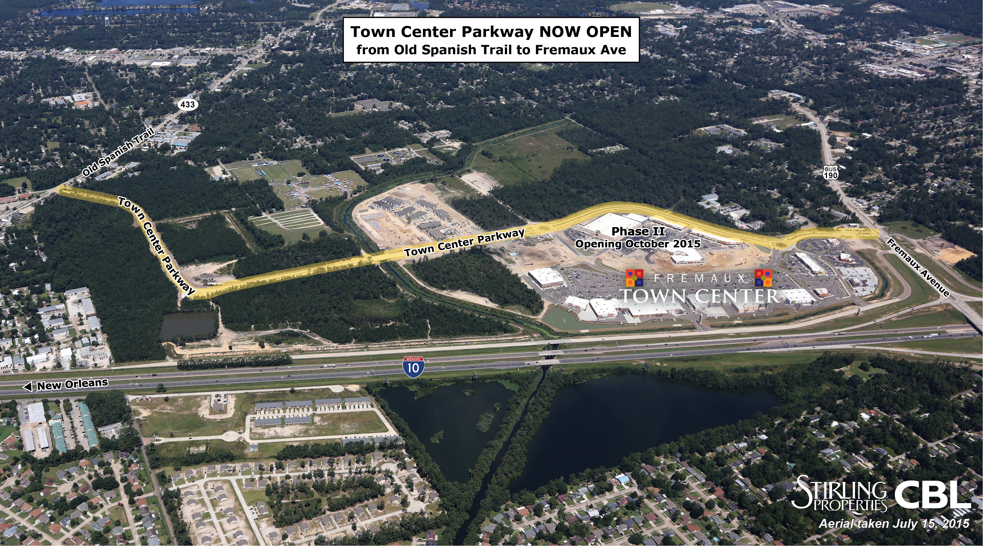 Town Center Parkway Aerial