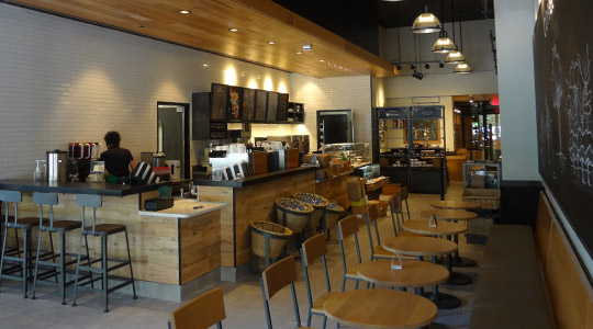Starbucks Pan American Life Center New Orleans