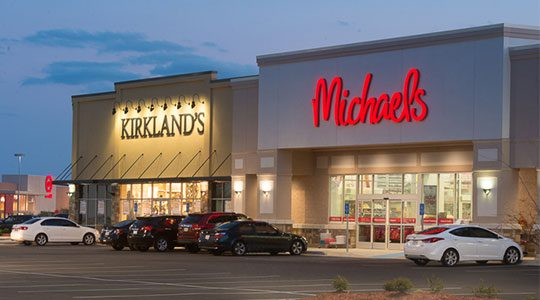Kirkland's and Michael's open at Stirling shopping center shopping center, Bossier City, LA