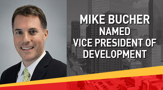 Mike Bucher Vice President of Development