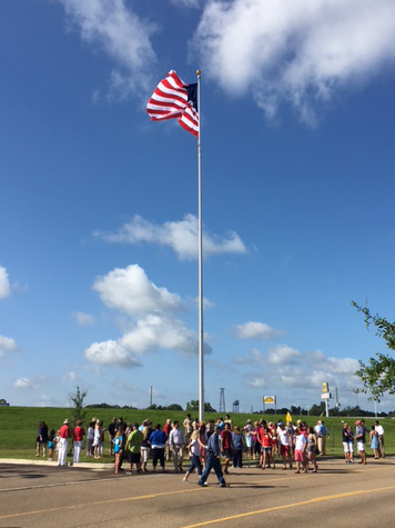 Hammond Square Flag Pole
