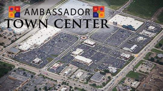 Ambassador Town Center 100% Leased