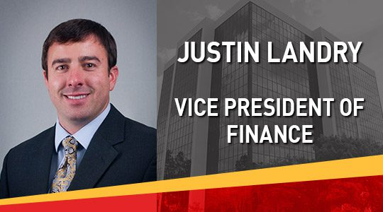 Stirling Properties Names Justin Landry Vice President Of Finance