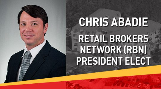 Chris Abadie Retail Brokers Network New President Elect
