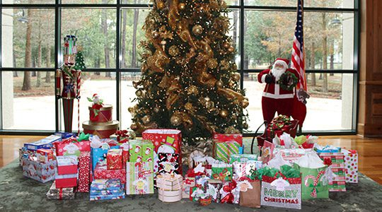 Volunteers of America Christmas Wish Gift Donation