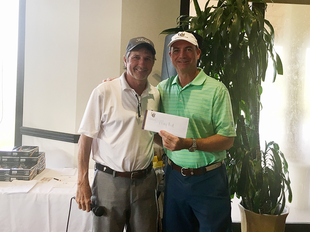 Grady Brame and Todd Stevens at 17th Annual Stirling Invitational Golf Tournament