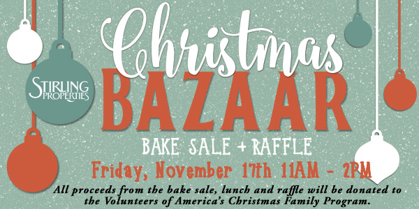 Stirling Properties Third Annual Christmas Bazaar