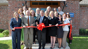 Ascension Office Ribbon Cutting