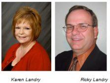 Karen and Ricky Landry