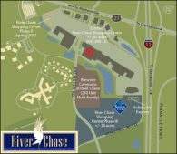 River Chase Sam's Club Map