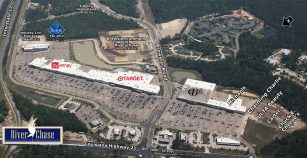 River Chase Shopping Center Aerial