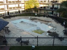 Tiger Manor - Pool Renovations Underway