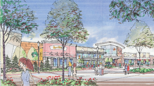 Fremaux Town Center Phase II Rendering