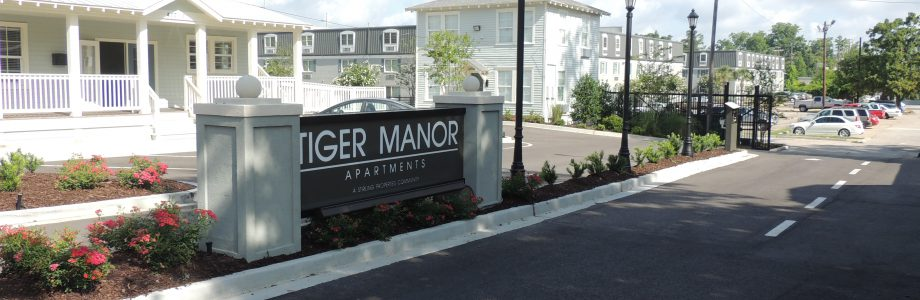 Tiger Manor - New Entrance