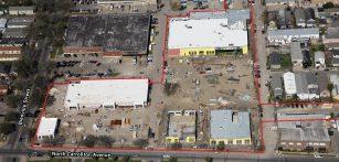 Mid-City Market Progress Aerial