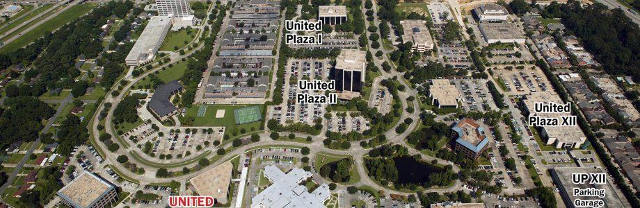 United Plaza VIII Aerial