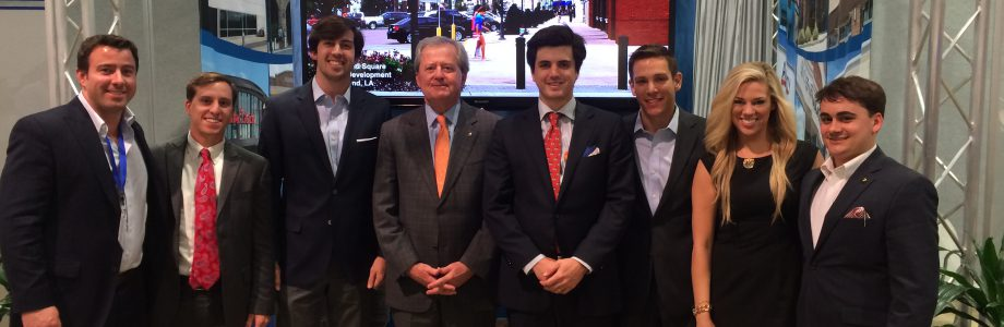 LSU Students attend ICSC RECon 2014
