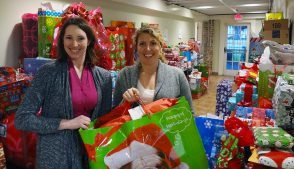 New Orleans Office Volunteers of America Christmas Wish Donations