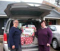 Lafayette Office Volunteers of America Christmas Wish Donations