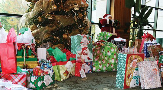 Volunteers of America Christmas Wish Gifts