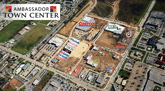 Ambassador Town Center Aerial