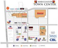 Ambassador Town Center Grand Opening Tenants