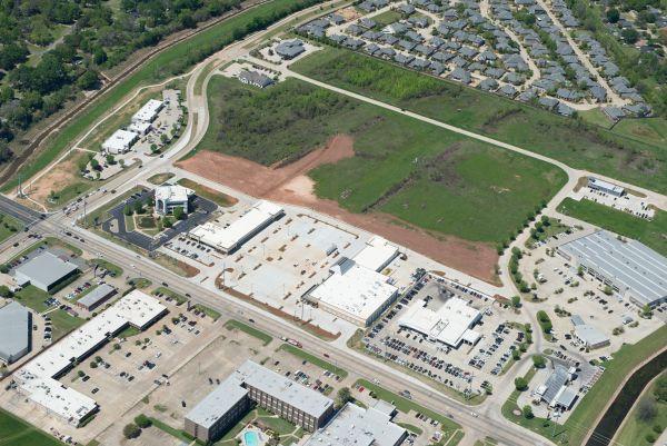 Fern Marketplace Shreveport Aerial