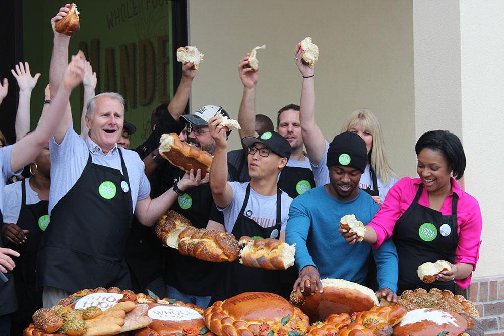 Mandeville Whole Food Market Bread Breaking