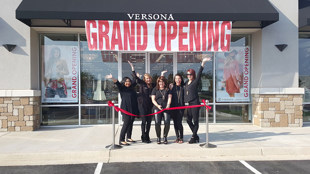 Versona open at Stirling shopping center
