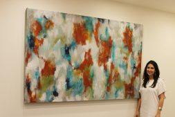 New Orleans abstract artist, Jennifer Ansardi