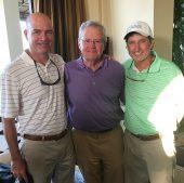 Todd Stevens, Jimmy Maurin, Grady Brame