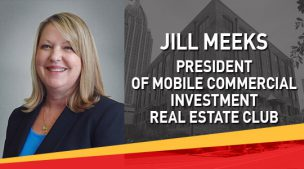 Jill Meeks, President of Mobile Commercial Investment Real Estate Club