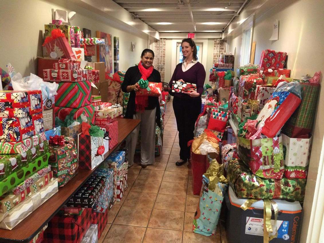 Volunteers of America Christmas Wish Donations New Orleans