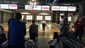 Bowling at Fulton Alley in New Orleans, LA