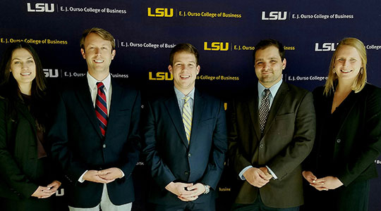 Louisiana State University Argus Winners 2017