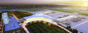 Louis Armstrong New Orleans International Airport Rendering