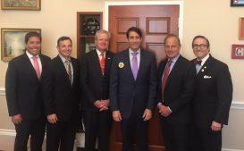 LA delegation with Congressman Graves