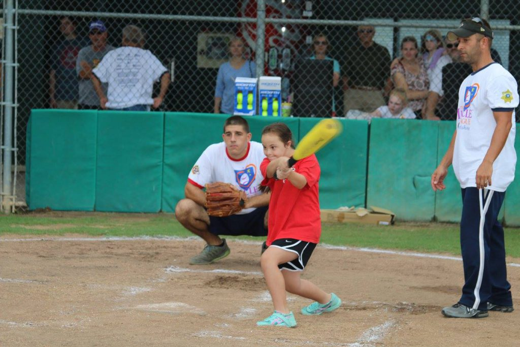 Miracle League Baseball Game