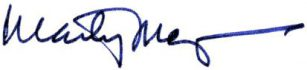 Marty Mayer Signature