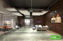 Offices at Spanish Fort Town Center Interior