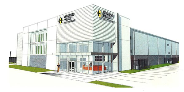 Hammond Square Self Storage Rendering