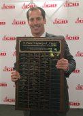 Gaines Seaman receives the F. Poche Waguespack Award