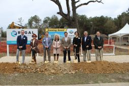 Stirling Properties and Levis Family at Dana Ground Breaking