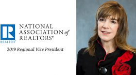 National Association of REALTORS® Names Stirling Properties' Beth Cristina as Regional Vice-President