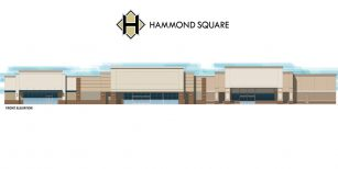 Hammond Square rendering of redeveloped Sears