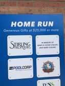 Children's Hospital & Brees Family Miracle Field Home Run Sponsors