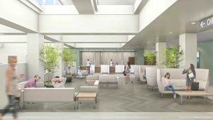 Rendering for Ambulatory Surgery Center
