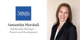 Samantha Marshall Relationship Manager – Finance and Development